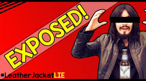 leather jacket guy exposed the truth why he left facts