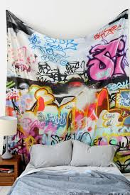 Graffiti Tapestry. Lounge IdeasGame RoomGraffiti ...