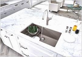 Corian Kitchen Countertop With Integrated Sink Kitchen Appliances