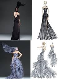 картинки эскизы платьев моды сумки