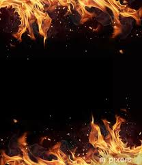 fire frame wall mural pixers we