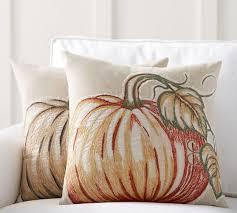 Good Applique Pumpkin Pillow Covers