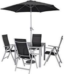 malibu 8 seater patio furniture set. malibu 4 seater patio furniture set with parasol - black 8 z