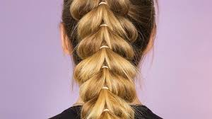 Upside Down Heart Braided Ponytail This Braid Is The Perfect Way To