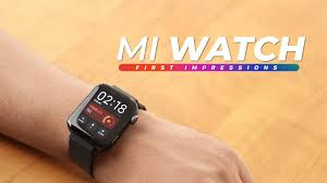 <b>Mi Watch</b> First Impressions! - YouTube
