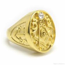 best unique mens crystal masonic rings