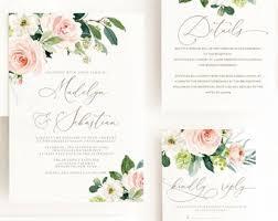 Printable Wedding Invitation Printable Wedding Invitation Etsy