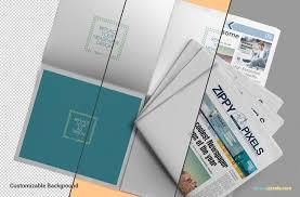 Newspaper Template App Newspaper Mockups Free Psd Download Zippypixels