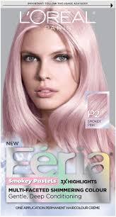 Pastel Pink Hair Dye Brands