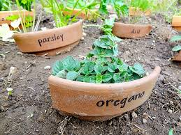 11 creative plant marker ideas broken clay pot plant markers how to label plants
