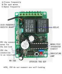 channels dc v v v wireless remote switch transmitter wiring diagram 4 channels dc 9v 12v 24v wireless remote switch transmitter receiver