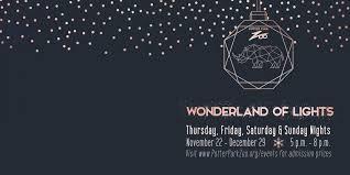 Wonderland Of Lights Lansing Mi Potter Park Zoo