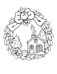 Small Picture Coloring Pages Christmas Houses Coloring Pages Candy House