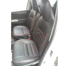 toyota corolla seat covers black with red stitching in lines model 2017 2018