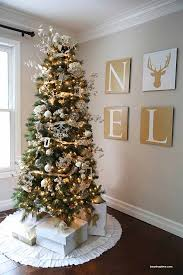 Gold and Silver Christmas Tree | 14 Magical Christmas Tree Colors And Ideas  To Pull Off