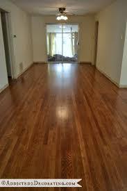 diy refinished hardwood floors from addicted2decorating com