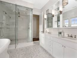 Carrara Marble Bathroom Designs - White marble bathroom