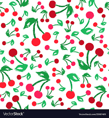 Cherry Pattern Magnificent Decorating Ideas