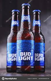bottles of bud light beer stock editorial photo monticello