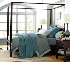 Pottery Barn Farmhouse Canopy Bed Assembly Instructions Scroll To ...