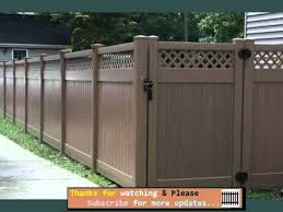 Vinyl fence with metal gate Wrought Iron Vinyl Fencing That Looks Like Wood Fences Gates Collection Landscaping Network Vinyl Fencing That Looks Like Wood Fences Gates Collection Youtube