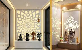 traditional with modern touch mandir decoration ideas