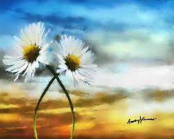 daisy painting daisies in love by anthony caruso