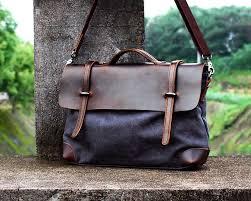 handmade leather tote canvas bag leather satchel leather messenger bag leather laptop bag canvas messenger bag shoulder bags designer bover