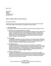 sle letter of intent to purchase a
