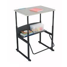 safco s 1201be alphabetter stand up desk with swinging from the manufacturer
