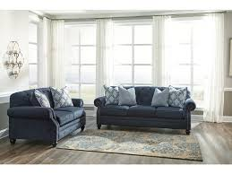 ashley sofa and loveseat. Sofa, Ashley Sofa And Loveseat Rustic Design Blue Tufts Fabric Rectangular Shape Black Wooden Carved A