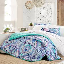 Teen bedding and curtains