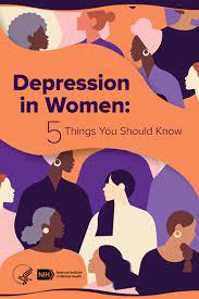 nimh depression in women 5 things