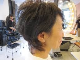 50代ショートスタイル パーマスタイル 40代50代60代髪型表参道美容室