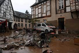 وفاة 103 أشخاص في ألمانيا و14 في بلجيكا جراء الفيضانات العارمة- (صور  وفيديوهات)