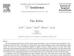 the bible is not a philosophy paper coming of age the bible is not a philosophy paper