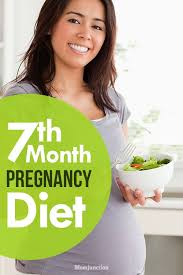 7 Month Pregnancy Diet Chart Pin On Parenting Etc