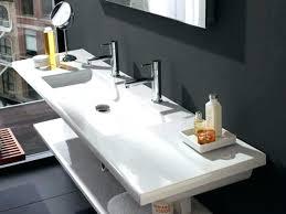 trough bathroom sink trough bathroom sink with two faucets photo 1 of 7 double faucet vessel