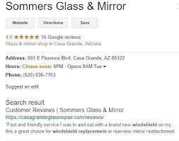 glass company referral
