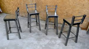 Contemporary Metal Bar Stools Style