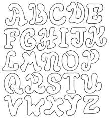 Coloring Pages of Alphabet Stencil