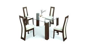 dining table set for 4 s glass top dining table set 4 chairs india