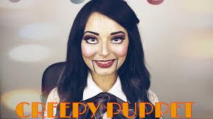 creepy puppet dead silence makeup tutorial laura sanchez makeup you