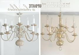 chandelier makeover this chandelier makeover chandelier makeover with chalk paint post