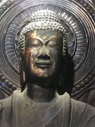 法隆寺 金堂 釈迦 三 尊像