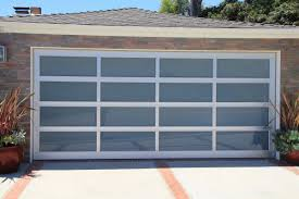 Door: Affordable glass garage door ideas Modern Wood Garage Doors ...