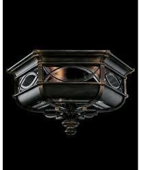 Fine Art Lamps  Warwickshire  Inch Wide  Light Outdoor - Flush mount exterior light fixtures