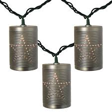tin lighting. Exellent Lighting Tin Can Party String Lights For Lighting L