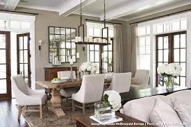 hanging heavy mirror on drywall traditional with dining room area rug