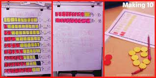Making 10 Anchor Chart 2064d Making2b102bcollage2b2 The Kindergarten Smorgasboard